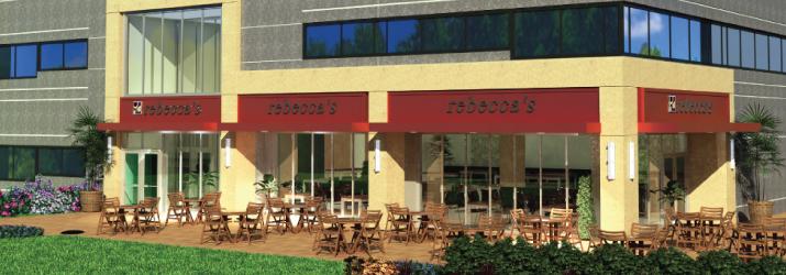 Retail Design Rebecca's Cafe