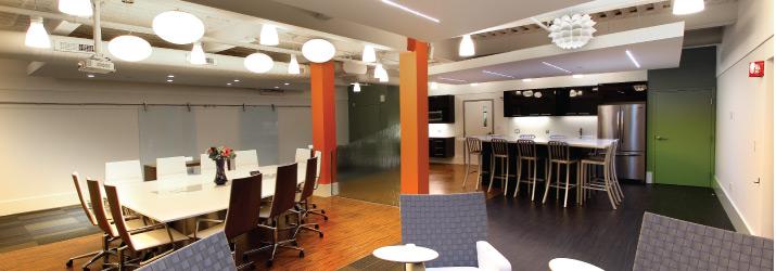 Corporate Interior Design Bemis