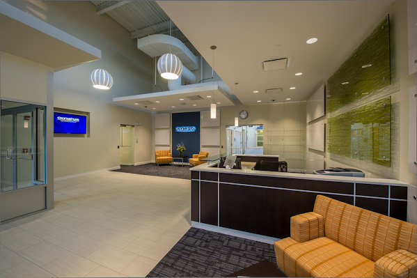 Commercial Interior Design Maugel Architects Olympus NDT