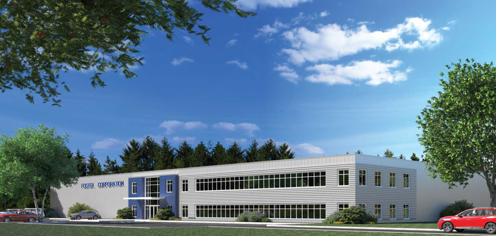 Foster Corporation Industrial HQ Design Maugel Architects