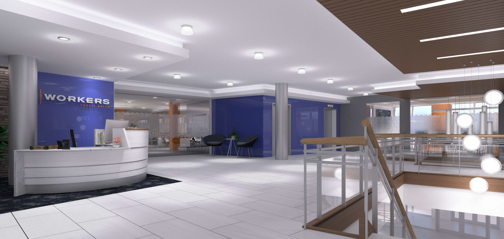 Workers Credit Union HQ Facility Design Maugel Architects