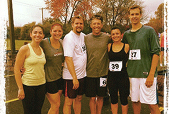 Maugel Team Runs in 5K Hunger Run