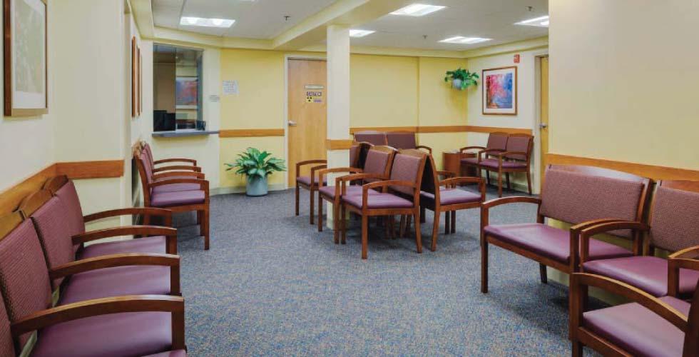 Healthcare Interior Design Acton Medical Associates