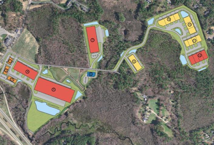 Maugel Designs Blue Star Business Park for Condyne