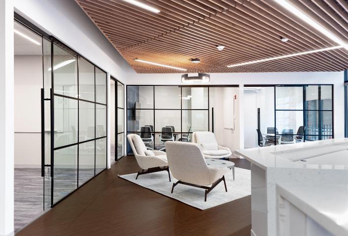 Coldwell Banker Cambridge Interior Office Design Complete