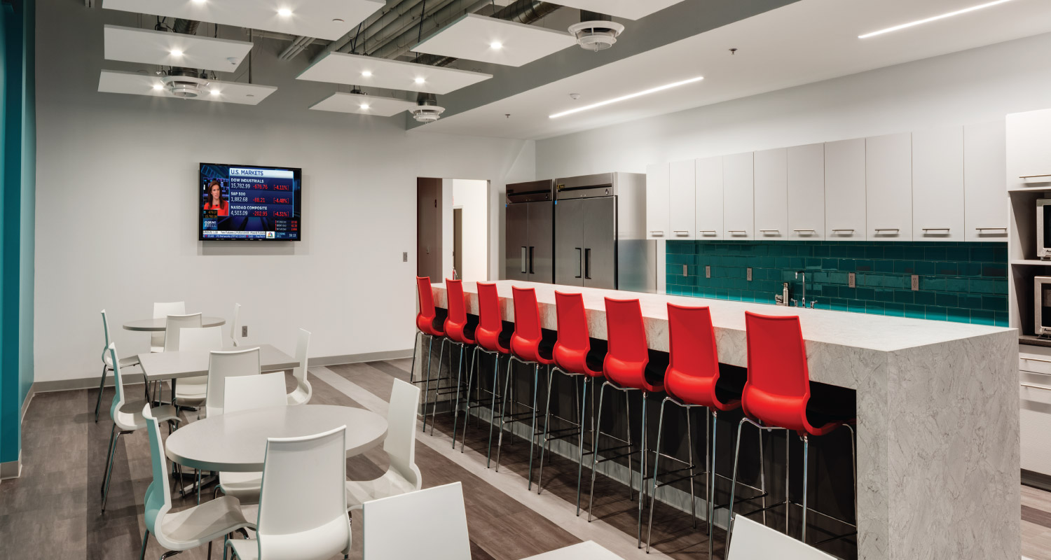 Commercial Interior Design Maugel Architects Comcast
