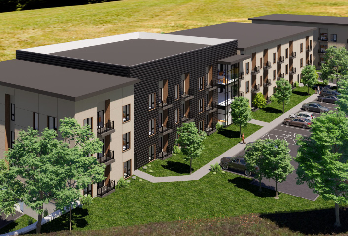 Maugel Designs Brooks Street Worcester Multifamily