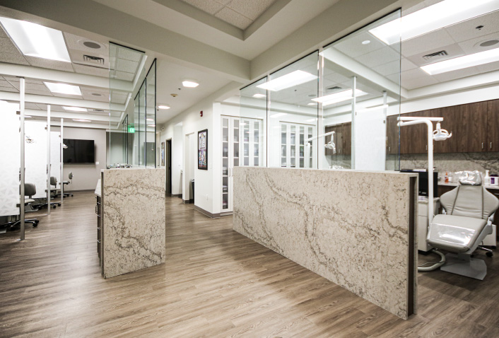 Maugel Designs Reichheld Ting Orthodontics in Lowell