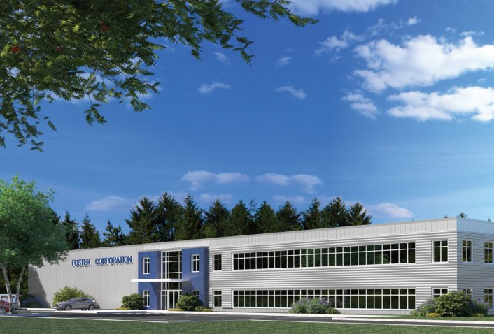 Maugel Designs 45,000 SF Headquarters for Foster Corporation