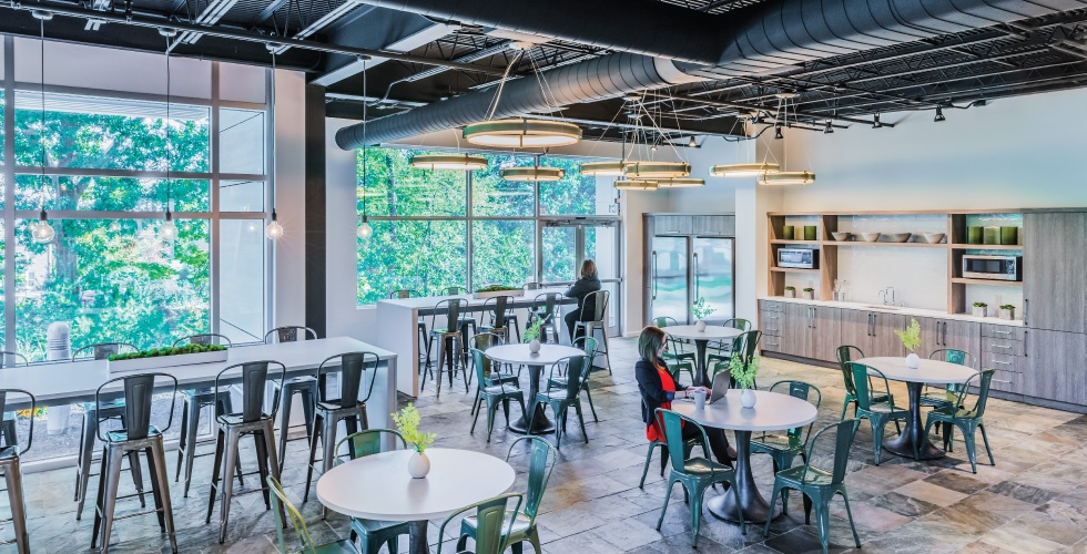 Workspace Design_Maugel Architects_Laddawn Cafe