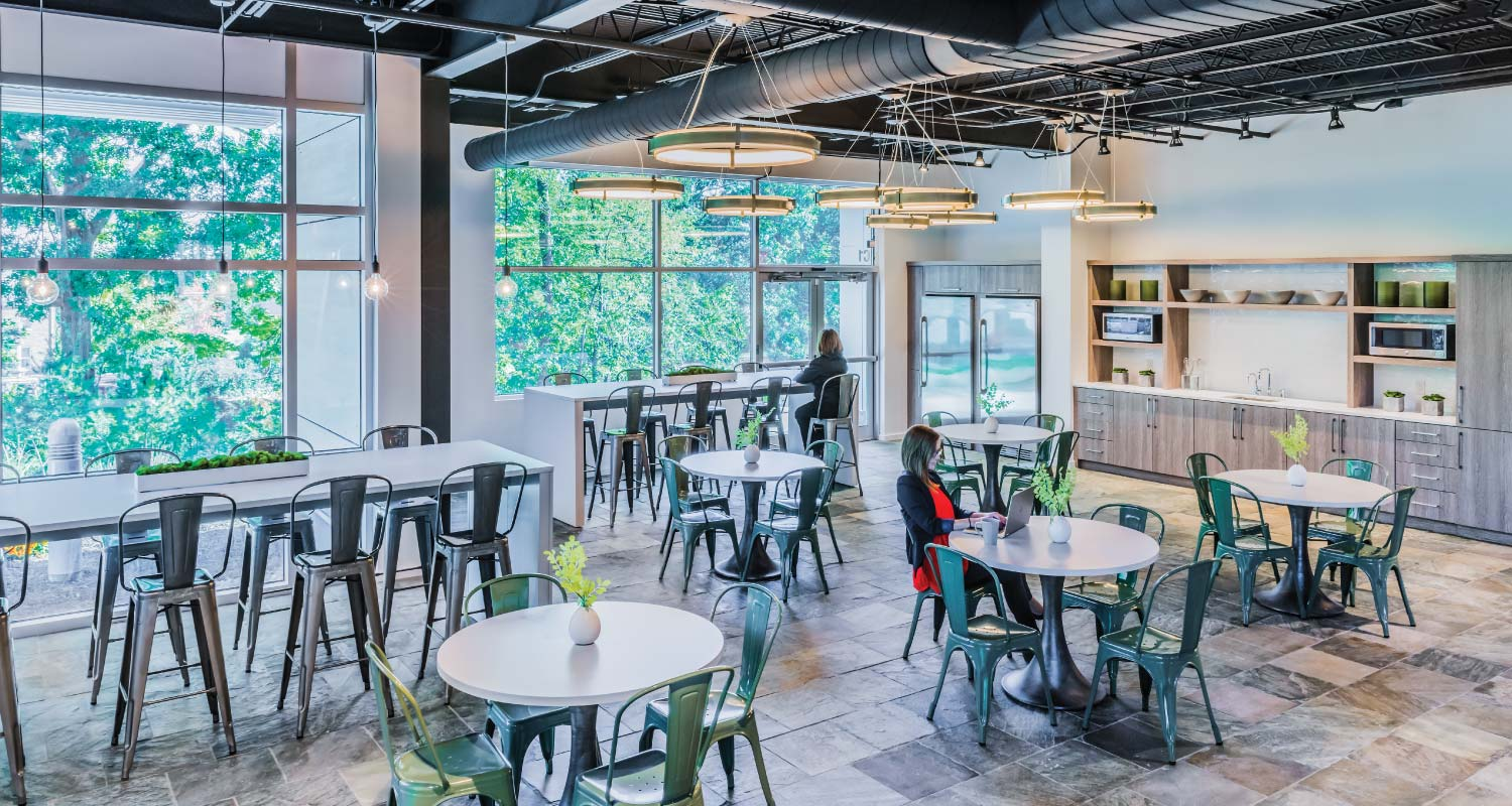 Innovative Workplaces_Laddawn_Interior_Cafe_Area