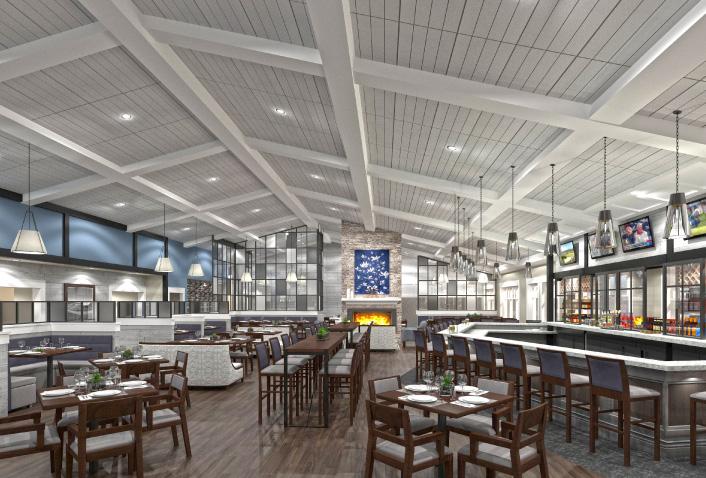 Nashawtuc Country Club Renovations Underway