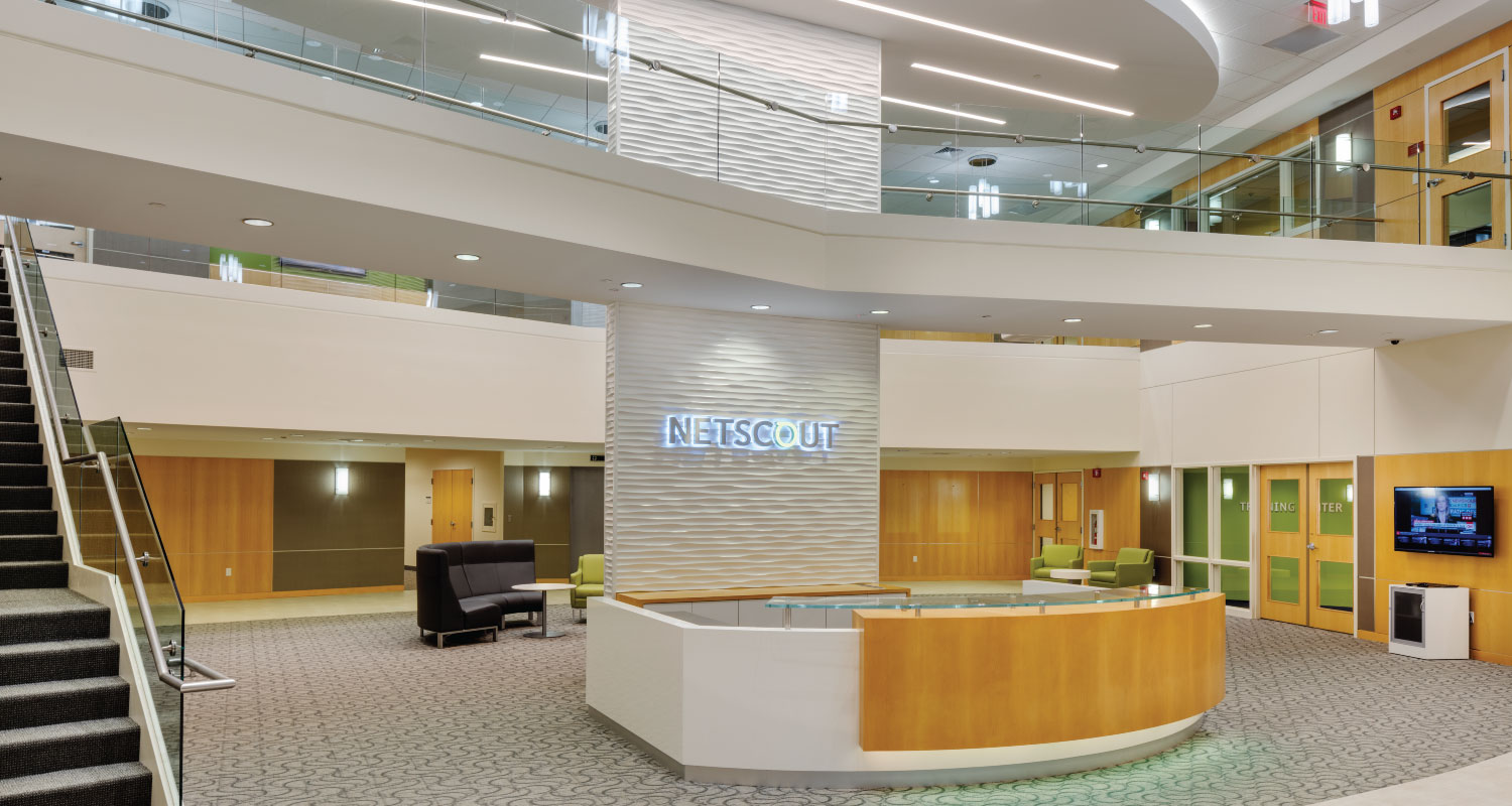 Commercial Interior Design Maugel Architects Netscout
