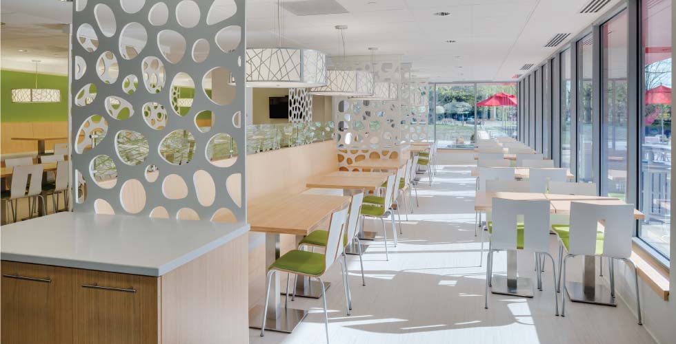 Retail Design Maugel Architects Rebecca's Cafe