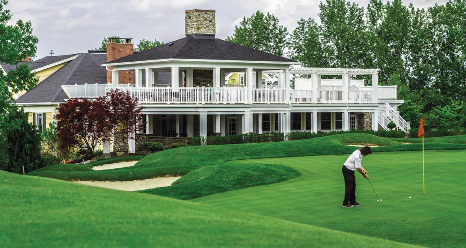 Country Club Design Maugel Architects