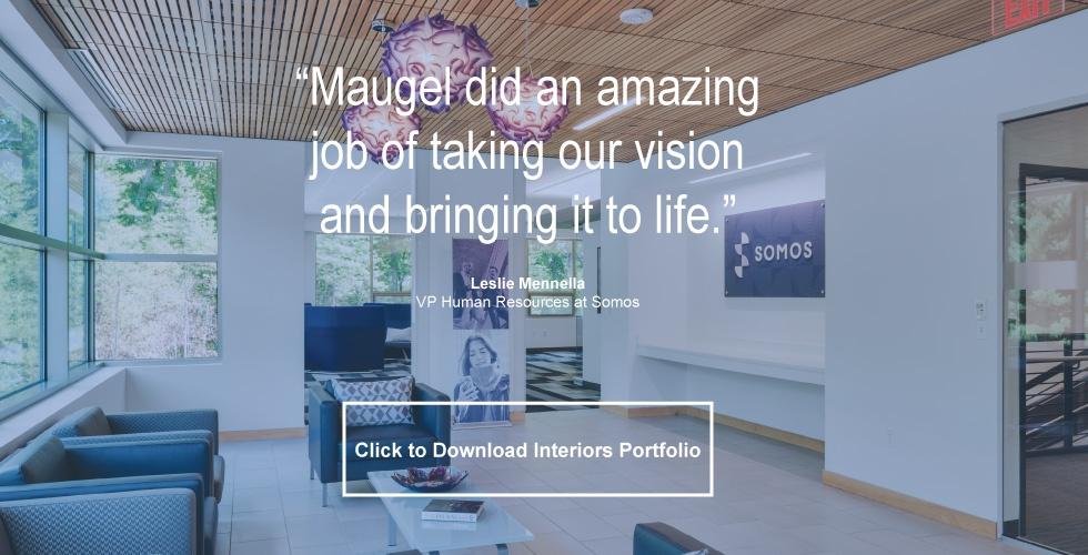 Corporate Interior Design Maugel Architects CTA