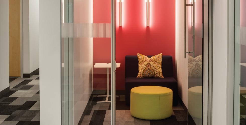 Modern Workspace Design_Huddle Room_Maugel Architects