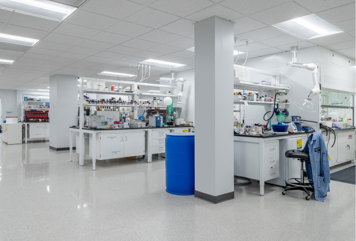 Four Innovative Lab Design Ideas for Spring Bank Pharmaceuticals