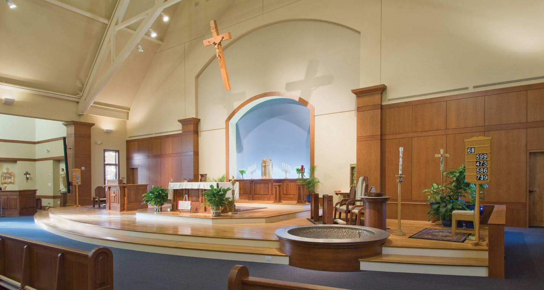 Church Design Maugel Architects_St Gabriels