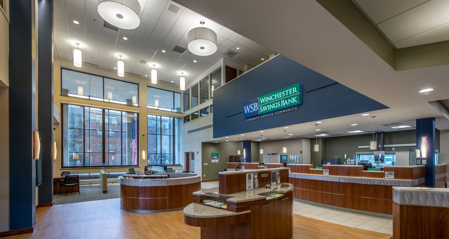 Bank Architectural Design Maugel Architects_Winchester Savings Bank
