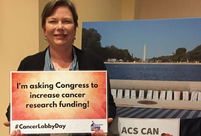 Dan and Alisa Head to the Capitol to Support Cancer Funding