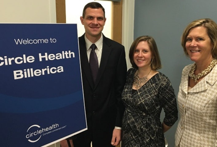 Maugel Attends Circle Health Billerica Ribbon Cutting