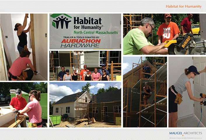 Maugel Architects Volunteers With Habitat for Humanity