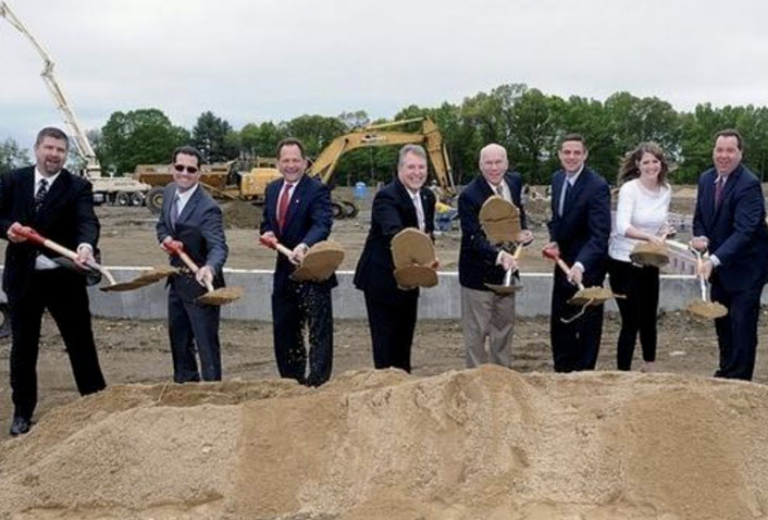 Maugel Attends LFB Groundbreaking for Marlboro Facility