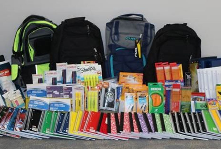 Maugel Donates to Loaves & Fishes Backpack Drive