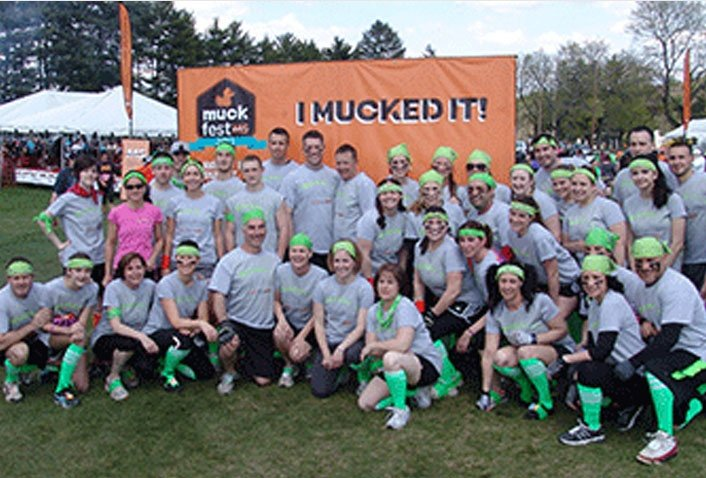 Muckin' A's Raise $8,415 for National Mutiple Sclerosis Society
