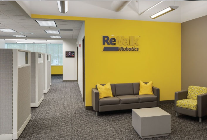 Maugel Designs Interior Fit-out for ReWalk Robotics