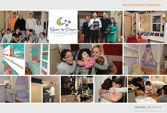 Maugel and Room to Dream Foundation: Sydni's Project