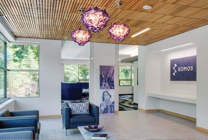 Maugel Architects Completes Interior Tenant Fit-out for Somos, Inc.