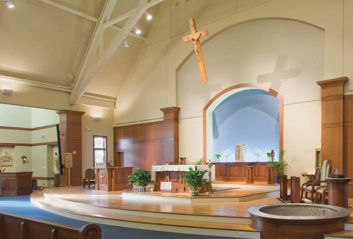 st gabriel church post